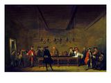 Paris: Billiards, 1725 Posters by Jean-Baptiste Simeon Chardin
