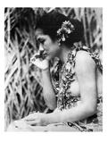 Film: Moana, 1926 Art by Robert Flaherty