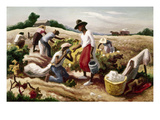 Benton: Field Workers, 1945 Giclee Print by Thomas Hart Benton