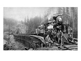 Railroad Workers, c1880s Giclee Print