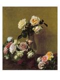 Fantin-Latour: Roses, 1884 Poster by Henri Fantin-Latour