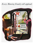 Texaco Advertisement, 1938 Giclee Print