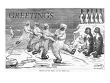 Christmas: Polar Bears Art by Frederick Stuart Church