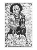 Posada: 'Calavera' Poster by Jose Guadalupe Posada