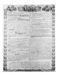 Declaration of Independence Giclee Print by  Kurtz & Allison