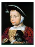 Henry II (1519-1559) Giclee Print by Jean Clouet