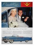 Cadillac Ad, 1955 Prints
