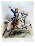 George Armstrong Custer Giclee Print by  Currier & Ives