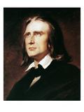 Franz Liszt (1811-1886) Giclee Print by Wilhelm Von Kaulbach