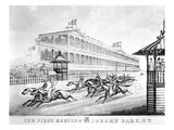 Bronx: Horse Race, 1866 Giclee Print