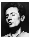 Woody Guthrie (1912-1967) Premium Giclee Print by Sid Grossman