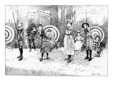 Archery, 1886 Giclee Print by Albert E. Sterner
