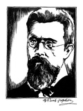 Nikolai Rimski-Korsakov Giclee Print by Samuel Nisenson