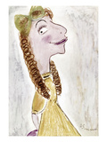 Fanny Brice (1891-1951) Giclee Print by Abe Birnbaum