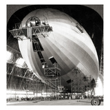 USS Akron Construction Giclee Print