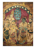 Hindu Wedding Ceremony Giclee Print