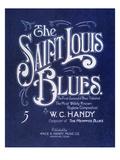 Handy: 'St Louis Blues', 1914 Print