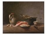 Chardin: Copper Pot Posters by Jean-Baptiste Simeon Chardin