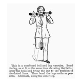 Exercise, 19th Century Giclee Print