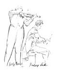Rudolf Serkin (1903-1991) Giclee Print by Hilda Wiener