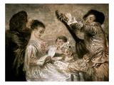 Watteau: Music Prints by Jean Antoine Watteau