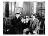 Silent Film Still: Drinking Posters