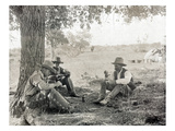 Texas: Cowboys, c1908 Prints by Erwin Evans Smith