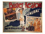 Keaton: The General, 1927 Giclee Print