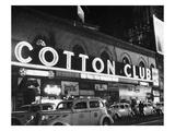 Harlem: Cotton Club, 1930s Reproduction procédé giclée