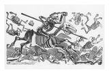 Posada: Don Quijote Giclee Print by Jose Guadalupe Posada