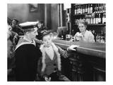Silent Film Still: Drinking Print