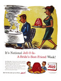 Jell-O Advertisement, 1959 Giclee Print