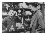 Chaplin: 'The Pawnshop' Premium Giclee Print