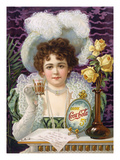 Coca-Cola Ad, 1890s Giclee Print