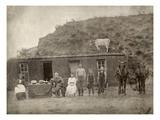 Nebraska: Settlers, c1886 Giclee Print by Solomon D. Butcher