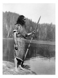 Curtis: Nootka Man, c1910 Poster by Edward S. Curtis