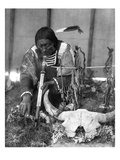 Sioux Medicine Man, c1907 Prints by Edward S. Curtis