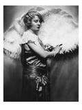 Nora Bayes (1880-1928) Giclee Print by Nickolas Muray