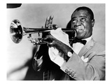 Louis Armstrong (1900-1971) Giclee Print