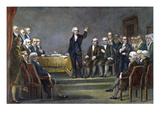 Constitutional Convention Premium Giclee Print by Michael Angelo Wageman
