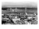California: Bay Bridge Giclee Print