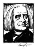 Franz Liszt (1811-1886) Giclee Print by Samuel Nisenson