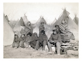 Sioux Encampment, 1891 Prints by John C.H. Grabill