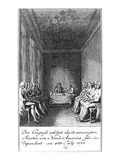 Declaration of Independence Giclee Print by  Berger