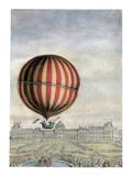 Hydrogen Balloon, 1783 Giclee Print by Antoine Louis Francois Sergent-marceau