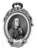 Benjamin Franklin (1706-1790) Art by Joseph Siffred Duplessis