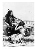 Sarah Bernhardt (1844-1923) Prints by Napoleon Sarony