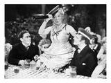 Silent Film Still: Drinking Prints