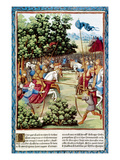 Song of Roland, 778 Ad Giclee Print by Antoine Verard