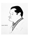 Bob Hope (1903-2003) Giclee Print by William Auerbach-Levy